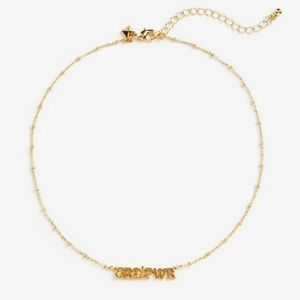 Rebecca Minkoff girl pwr necklace